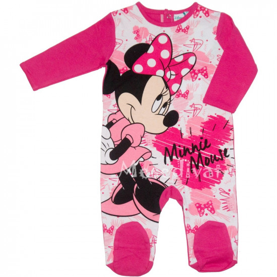Minnies baby rugdalózó pink