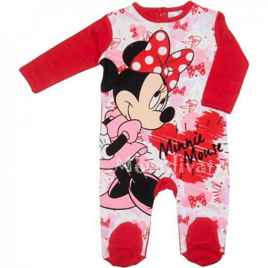 Minnies baba rugdalózó piros