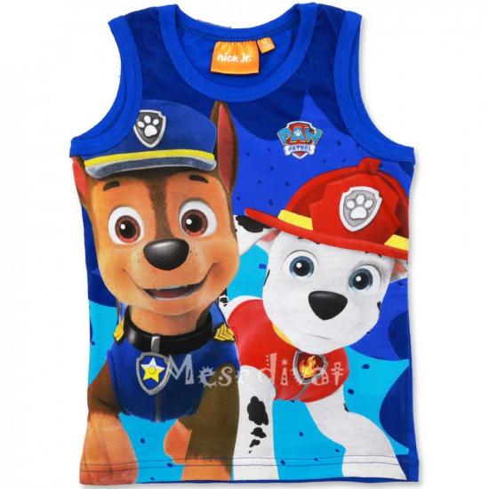 Mancs Őrjárat trikó kisfiúknak kék