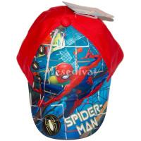 Spiderman baseball sapka piros