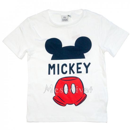 Mickey Mouse póló fehér 98-128