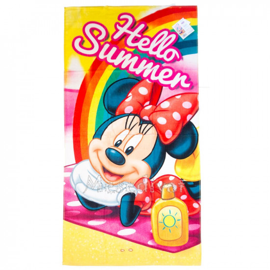 Minnie Mouse Hello Summer fürdőlepedő