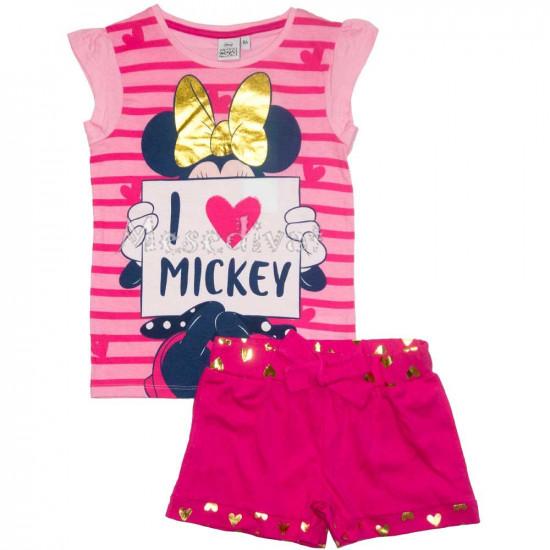 Minnie Egeres nyári szett pink