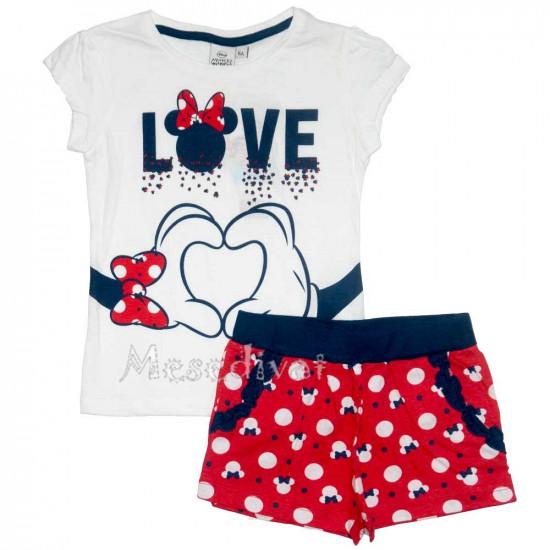 Minnie Mouse nyári együttes kislányoknak