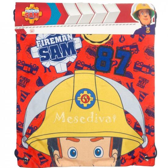 Sam a tűzoltó Fireman Sam tornazsák