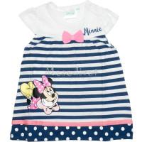 Minnie Mouse baba nyári ruha sötétkék