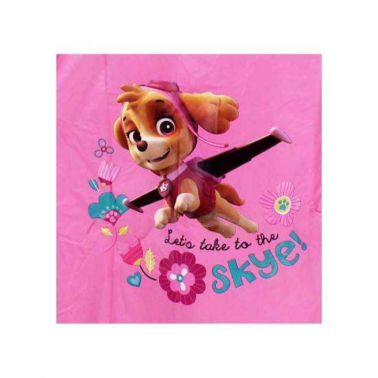 Mancs Őrjárat esőkabát kislányoknak rózsaszín