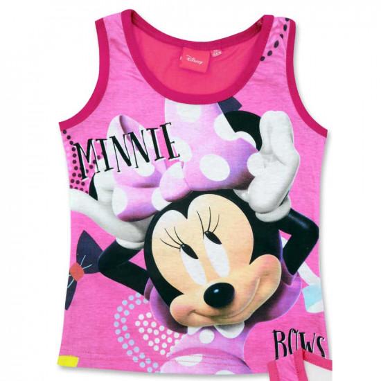Minnie Egeres pamut trikó kislányoknak pink