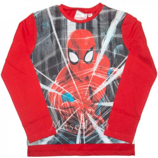Pókemberes hosszúujjú felső piros 98-128