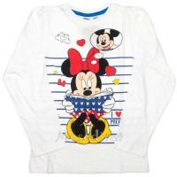 Minnie Mouse hosszúujjú póló fehér 104-134
