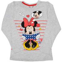 Minnie Mouse hosszúujjú póló szürke 104-134