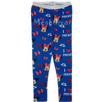 Minnie és Mickey Mouse leggings kék
