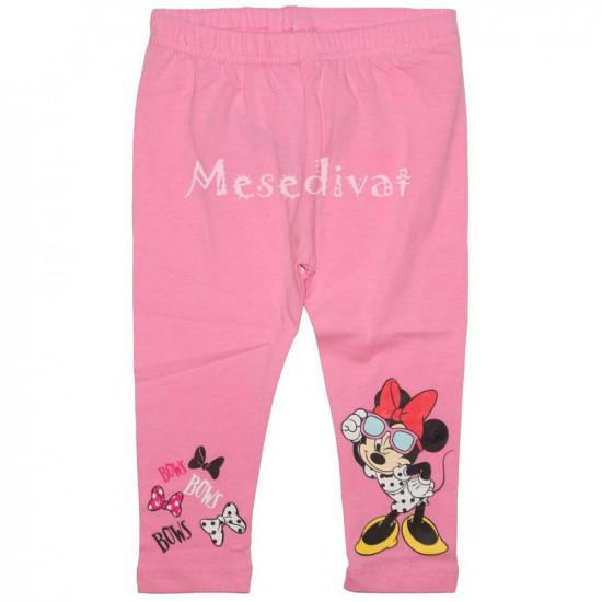 Minnie Egeres rózsaszín baba leggings