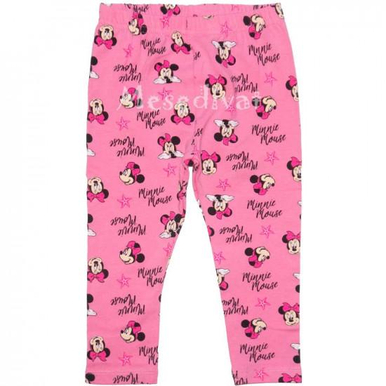 Minnie leggings bébi rózsaszín