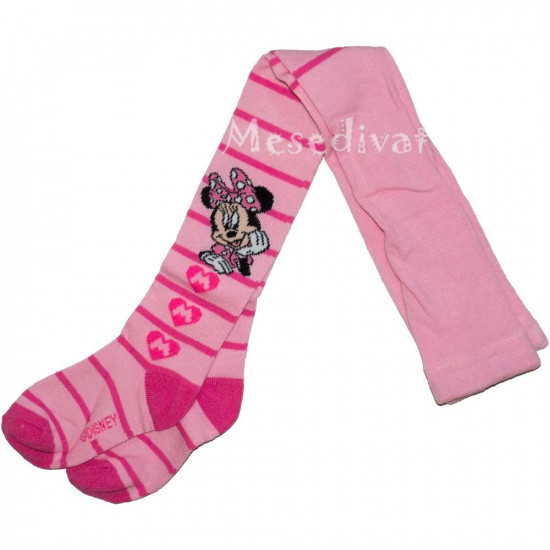 Minnie Egeres harisnya rózsaszín