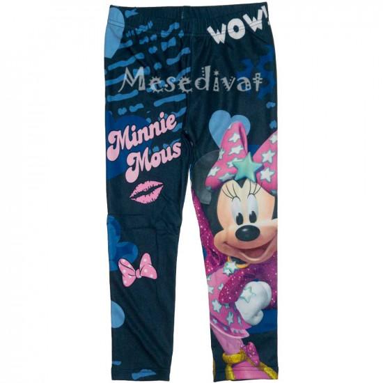 Minnie Egeres nagy mintás leggings sötétkék