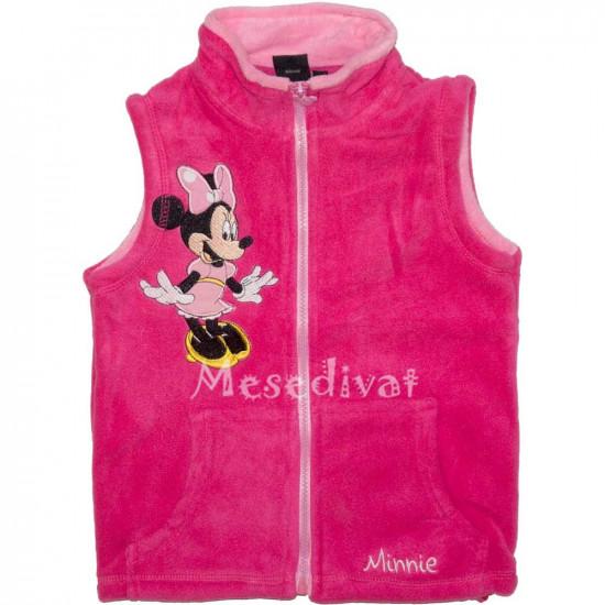 Minnie Egeres polár mellény pink