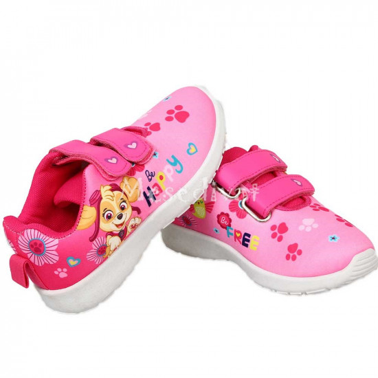 Mancs Őrjárat tépőzáras cipő kislányoknak