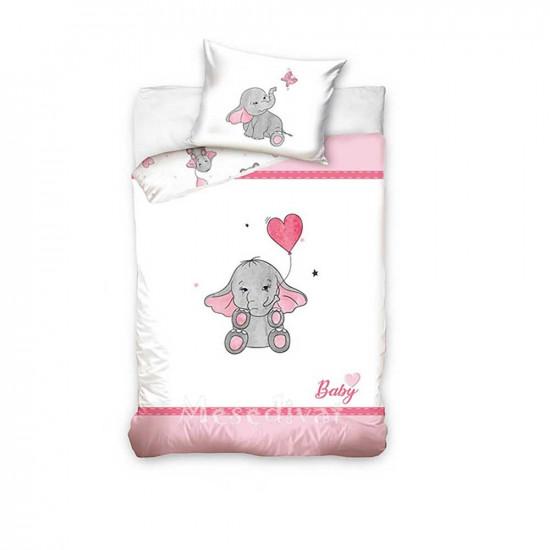 Elefántos gyerek ágyneműhuzat garnitúra