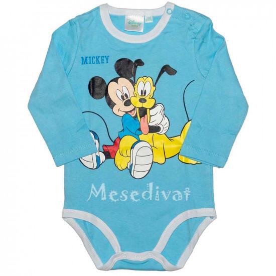Mickey és Plútó hosszúujjú body