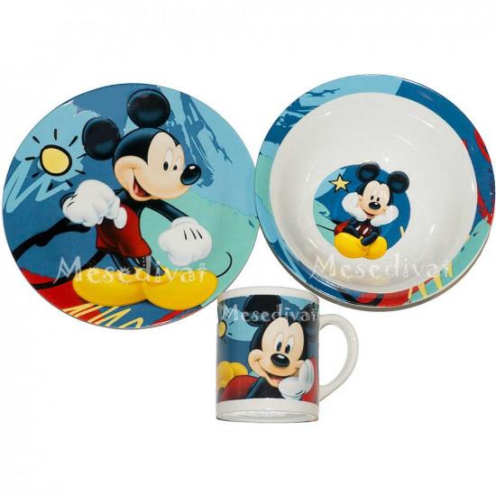 Mickey Egeres porcelán étkészlet