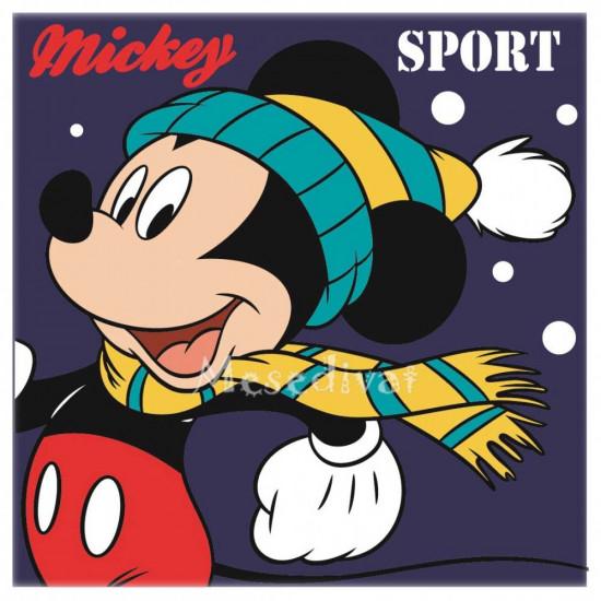 Mickey Egeres kéztörlő törölköző sötétkék