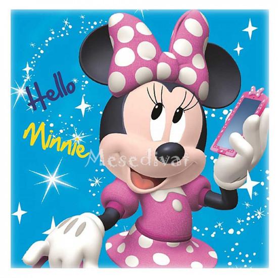 Minnie Egeres kéztörlő törölköző kék