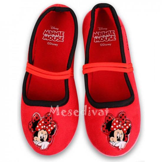 Minnie Egeres balerina cipő piros