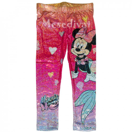 Minnie Mouse csillogós leggings