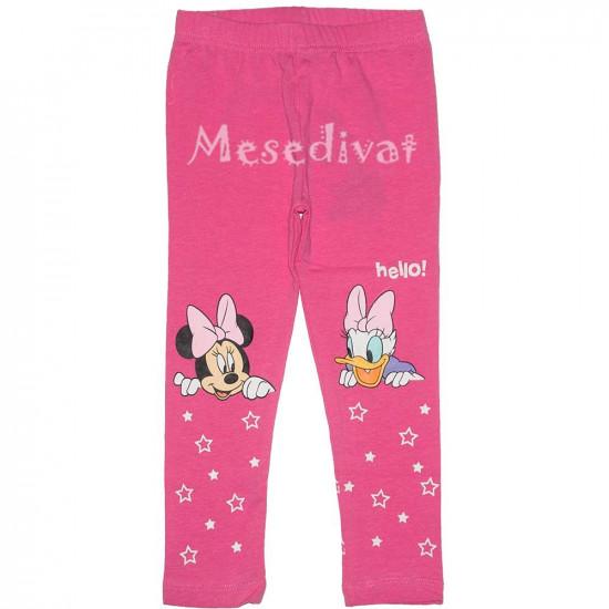Minnie és Daisy legging rózsaszín