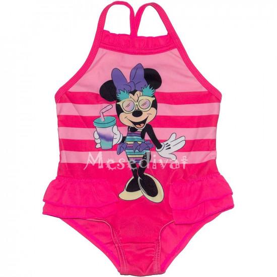 Minnie bébi fürdőruha pink