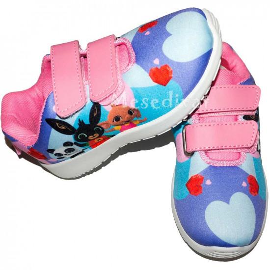 Bing nyuszis tépőzáras cipő kislányoknak