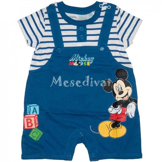 Mickey Mouse baba napozó kék