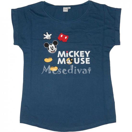 Mickey női póló sötétkék