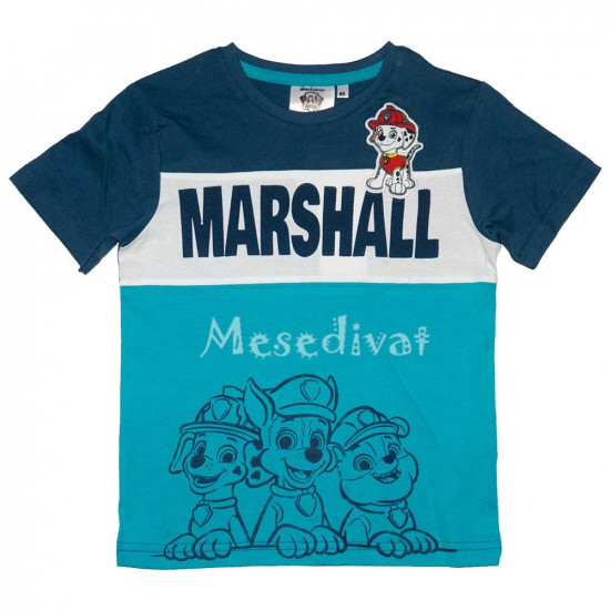 Mancs Őrjárat póló Marshall felvarróval