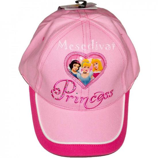 Hercegnős baseball sapka rózsaszín
