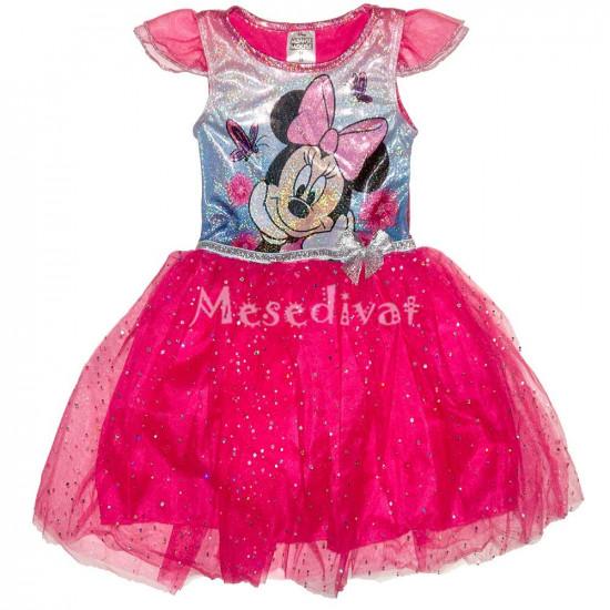 Minnie Egeres tüllszoknyás ruha pink