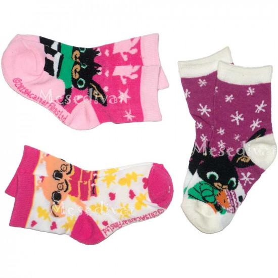 Bing nyuszis zokni szett kislányoknak