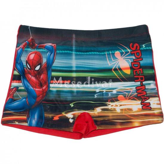 Pókemberes száras fürdőnadrág piros
