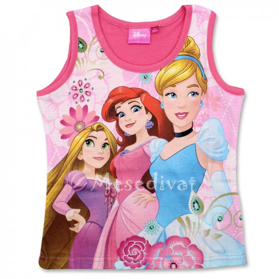 Hercegnős pamut trikó pink 98-128