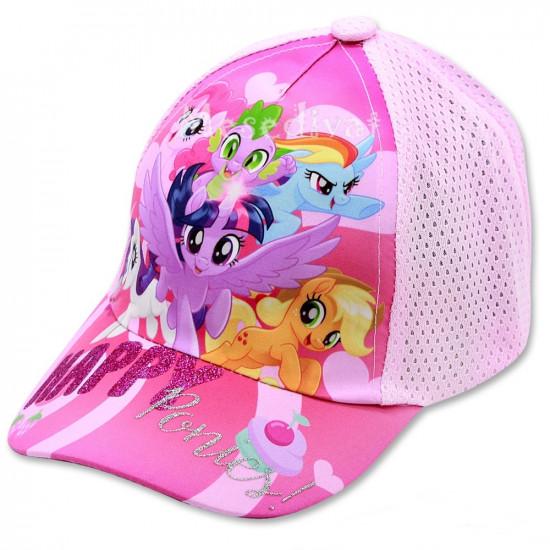 Én kicsi pónim kislány baseball sapka rózsaszín