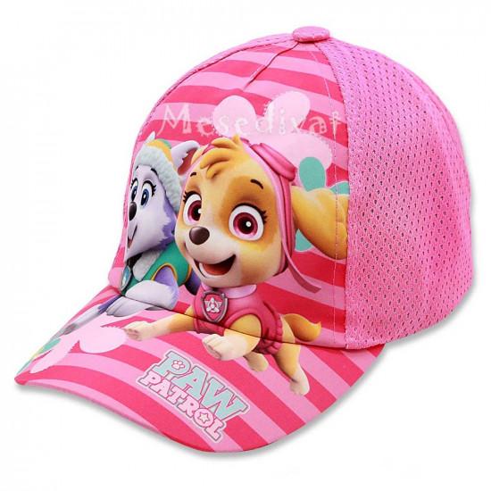 Mancs Őrjáratos kislány basebal sapka rózsaszín