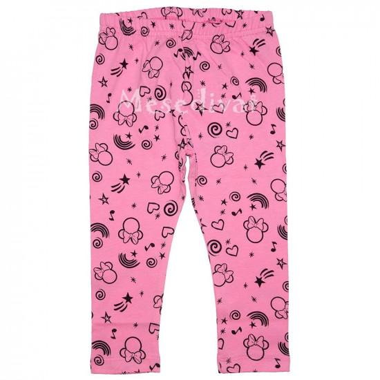 Minnie Egér baba leggings rózsaszín