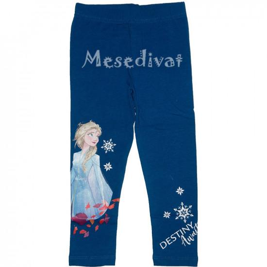Jégvarázs leggings kislányoknak kék