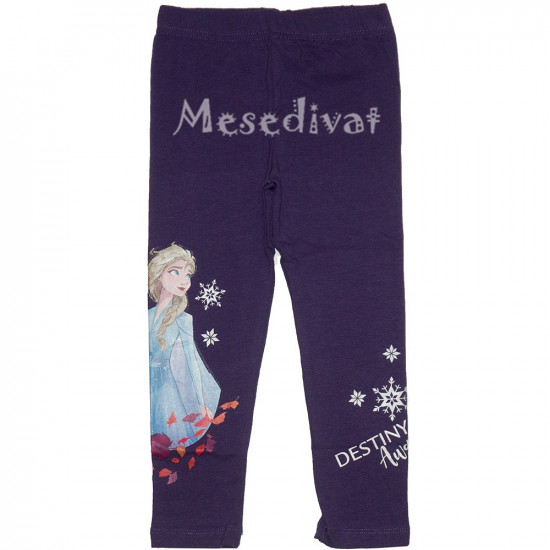Jégvarázsos leggings lila Elsa