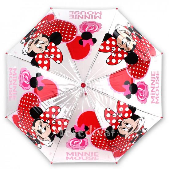 Minnie Mouse esernyő kislányoknak