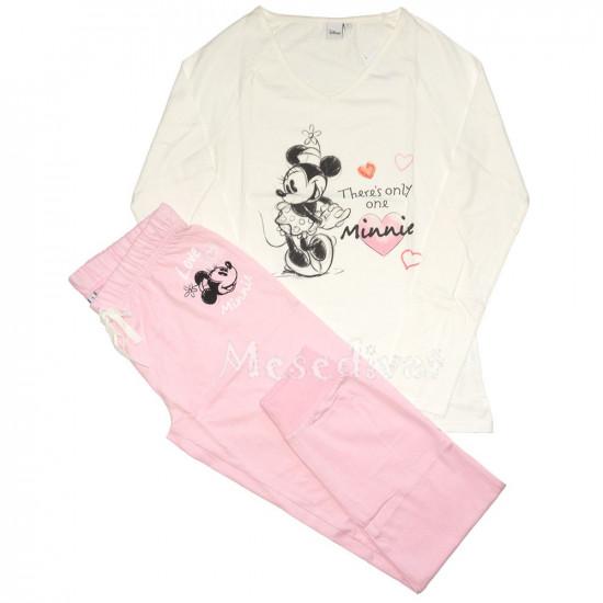 Minnies női pamut pizsama S-XL