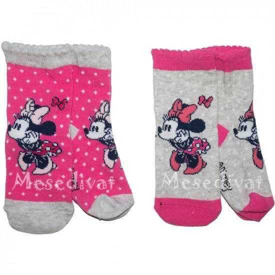 Minnie Egeres bébi zokni 0-24 hó