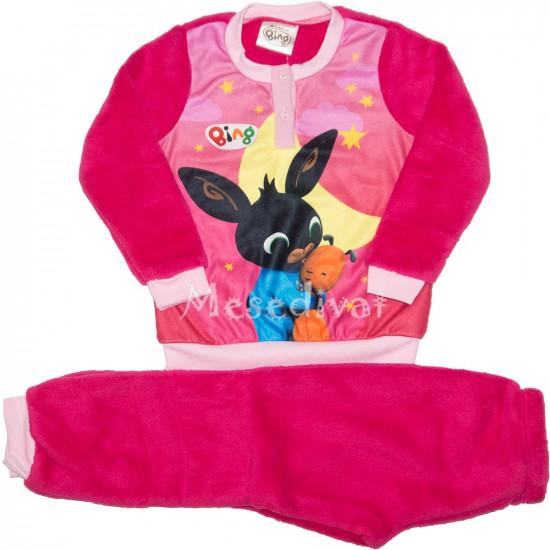 Bing nyuszis polár pizsama kislányoknak