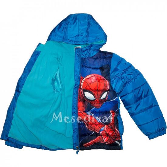 Pókember Spiderman télikabát kisfiúknak